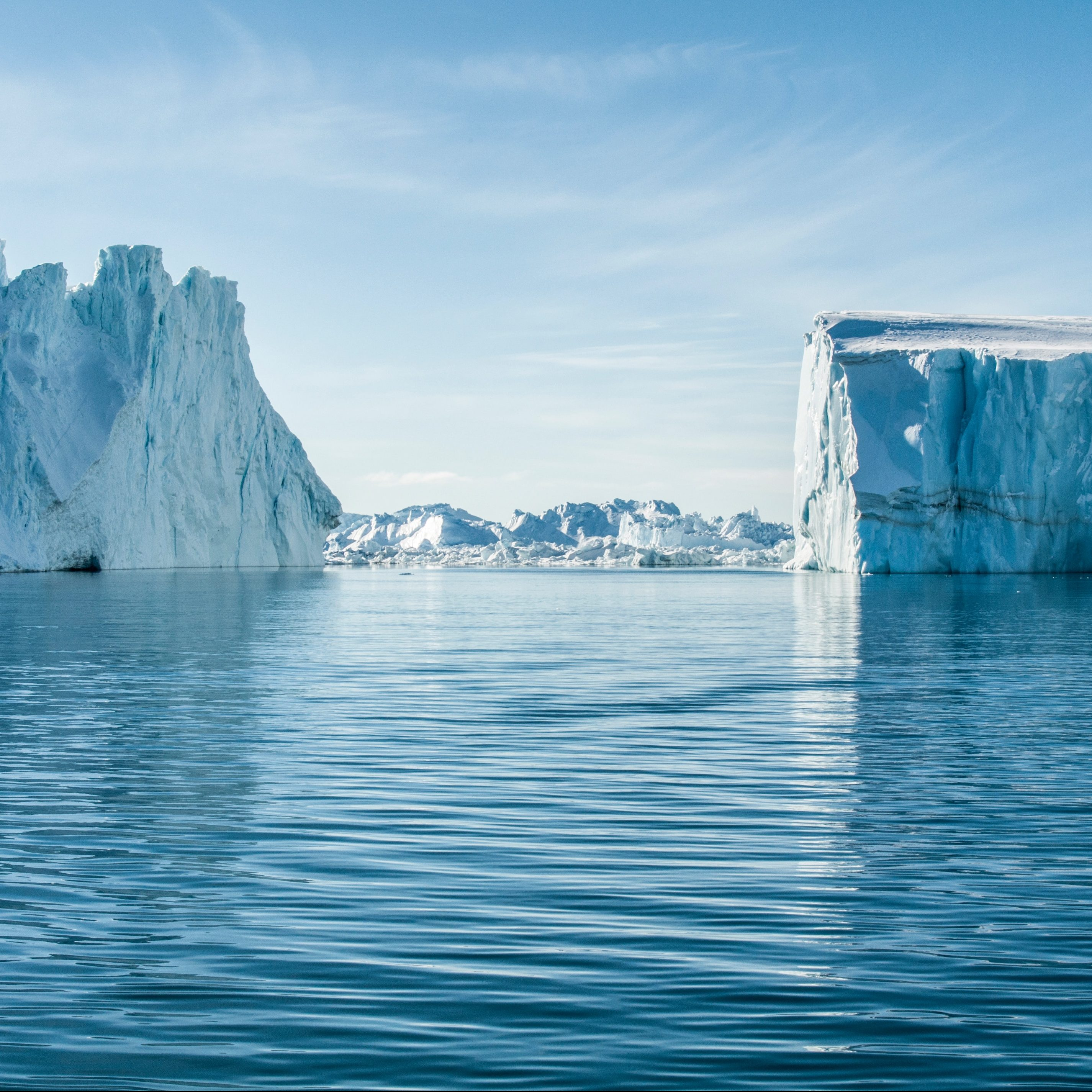 Jäätiköt ja Merivedet